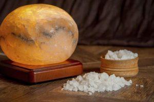 como hacer lamparas de sal caseras