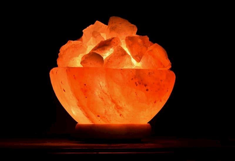 lámpara de sal del himalaya, lamparas de sal significado, lampara de sal del himalaya propiedades, lampara de sal
